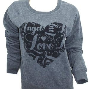 Victoria's Secret Angel Fleece Sweatshirt Top NWT